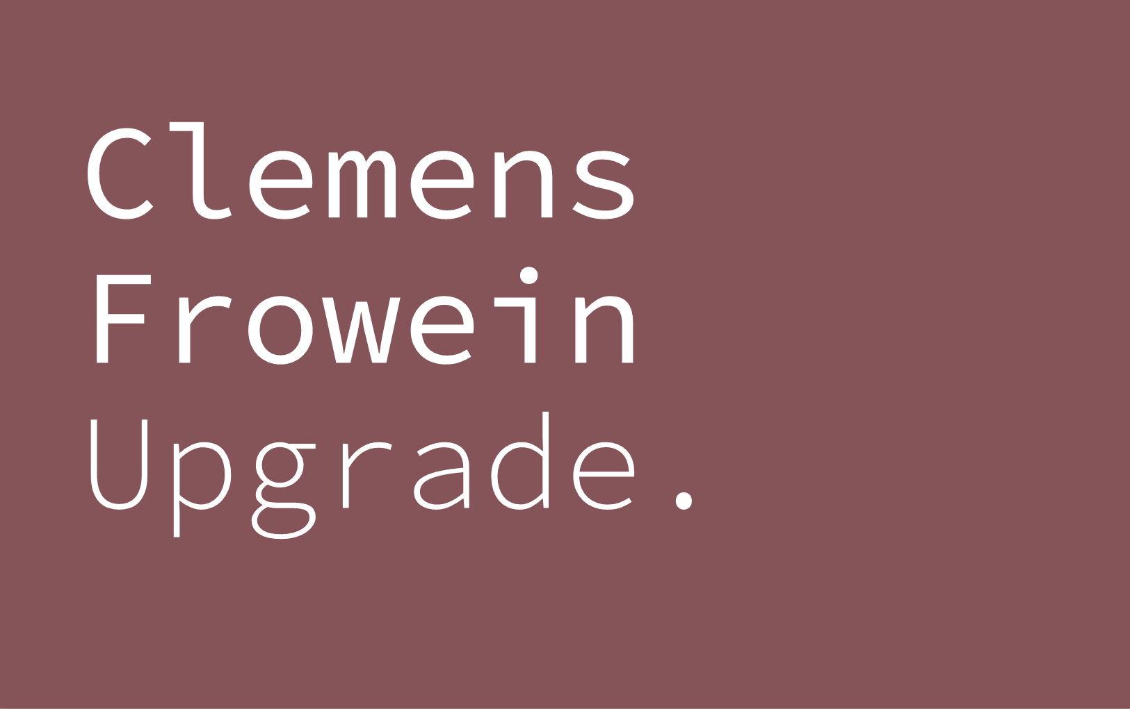 Clemens Frowein